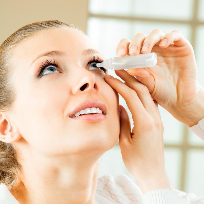 diagnóstico e tratamento de olho seco