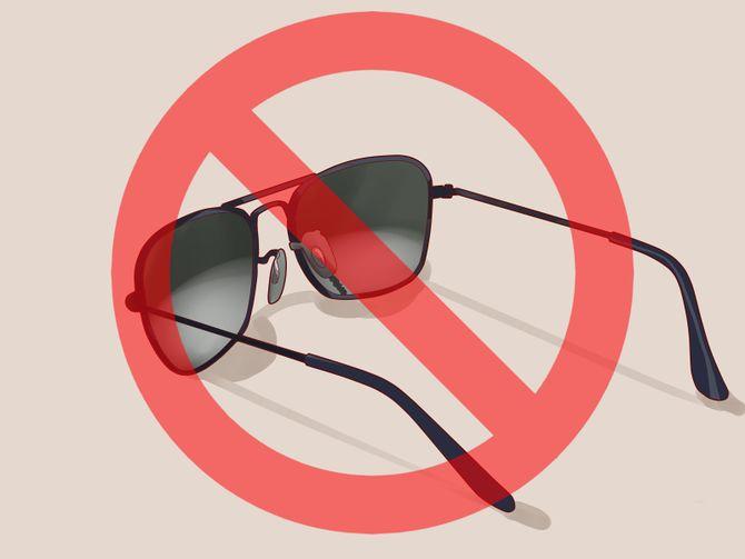 óculos pirata e falsos fazem muito mal
