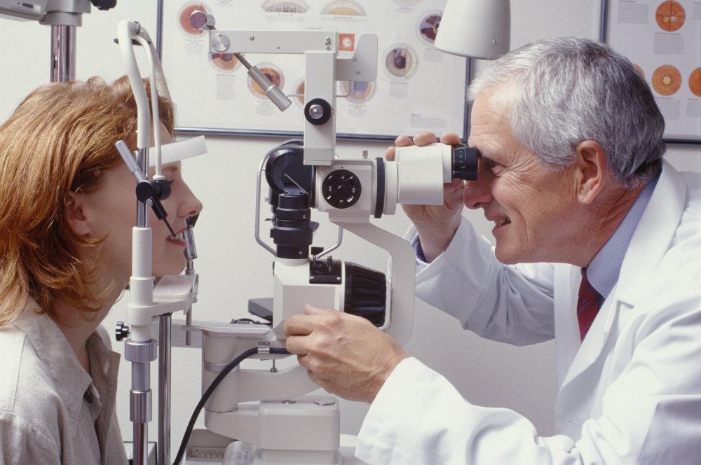 exames pré-operatórios para cirurgia de catarata