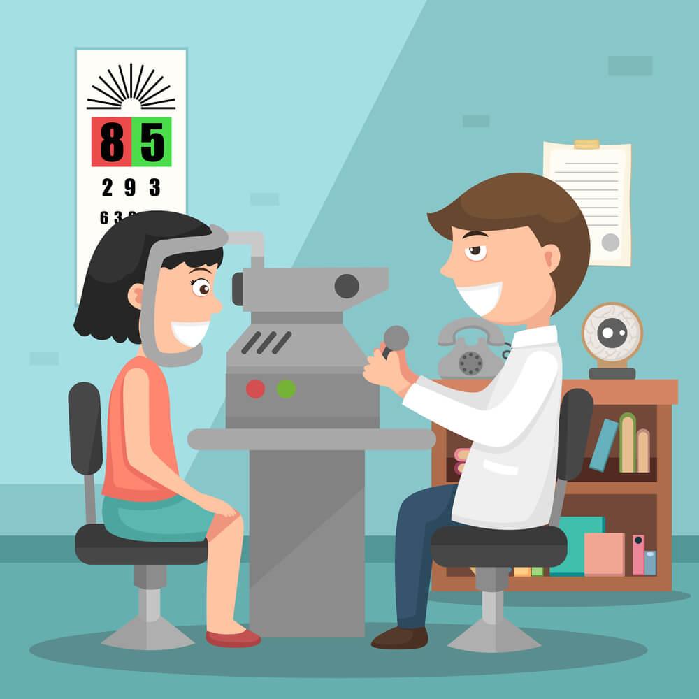avaliação oftalmológica