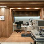 Consultório da Clinica de Oftalmologia Integrada no Rio de Janeiro